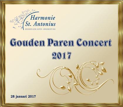 website Gouden Paren Concert 2017